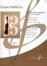 DANCLA - 3rd Solo of Concerto Op. 141 N ° 3 in F Major - viola - Sheet Music - di-arezzo.com