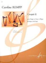 Croquis 2 Caroline Rempp Partition Harpe - laflutedepan