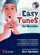 Easy Tunes For Recorder Partition Flûte à bec - laflutedepan.com
