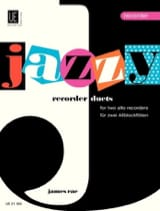 Jazzy recorder Duets James Rae Partition laflutedepan.com