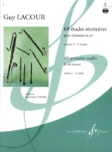 Guy Lacour - 60 Recreational Studies - Volume 2 - Sheet Music - di-arezzo.co.uk