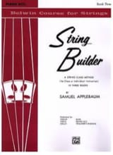Samuel Applebaum - String Builder Accomp Piano Vol 3 - Sheet Music - di-arezzo.co.uk
