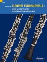 Clarinet Fundamentals Volume 1 - Reiner Wehle - laflutedepan.com