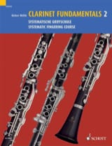 Clarinet fundamentals - Volume 2 Reiner Wehle Partition laflutedepan