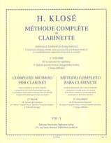 Hyacinthe Klosé - Méthode Complète de Clarinette Volume 2 - Partition - di-arezzo.fr