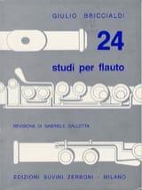 24 Studi Per Flauto Giulio Briccialdi Partition laflutedepan.com