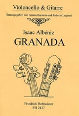 Isaac Albeniz - Granada - cello and guitar - Sheet Music - di-arezzo.com