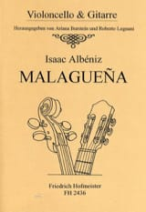 Malaguena Isaac Albeniz Partition Duos - laflutedepan.com