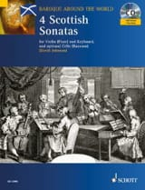 4 Scottish Sonatas – Violin - David Johnson - laflutedepan.com