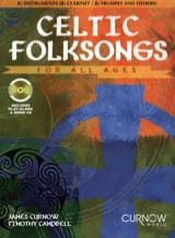 Curnow James / Campbell Timothy - Canciones populares celtas - Instrumentos Bb - Partitura - di-arezzo.es