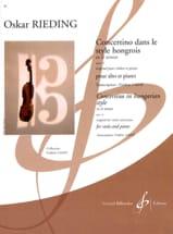 Concertino dans le style hongrois op. 21 en ré mineur laflutedepan.com