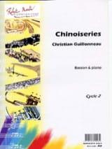 Chinoiseries - Christian Guillonneau - Partition - laflutedepan.com