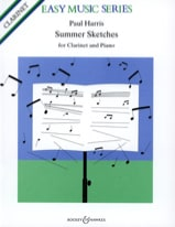 Summer Sketches Paul Harris Partition Clarinette - laflutedepan.com