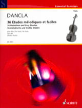 DANCLA - 36 Melodic and Easy Studies Op.84 - Viola - Sheet Music - di-arezzo.co.uk