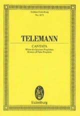 Georg Philipp Telemann - Wider die falschen Propheten - Partition - di-arezzo.fr