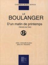 D'un matin de printemps Lili Boulanger Partition laflutedepan.com