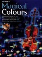 Magical Colours Jos van den Dungen Partition Alto - laflutedepan.com