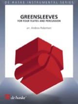 Greensleeves - Partition - Flûte traversière - laflutedepan.com