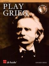 Play Grieg for Clarinet Edvard Grieg Partition laflutedepan.com