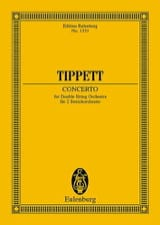 Concerto For Double String Orchestra Michael Tippett laflutedepan.com