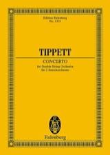 Michael Tippett - Concerto For Double String Orchestra - Partition - di-arezzo.fr
