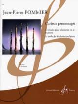 Jean-Pierre Pommier - Curieux personnages - Partition - di-arezzo.fr