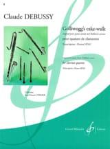 Golliwogg's Cake Walk DEBUSSY Partition Clarinette - laflutedepan.com