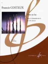 Fête Au Lac Francis Coiteux Partition Clarinette - laflutedepan.com