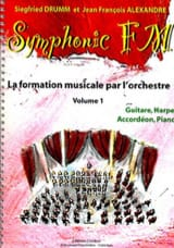 DRUMM Siegfried / ALEXANDRE Jean François - Symphonic FM Volume 1 - Guitar, Harp, Accordion, Piano - Sheet Music - di-arezzo.co.uk