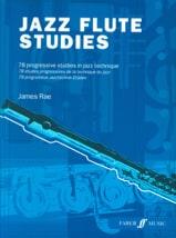Jazz Flute Studies - James Rae - Partition - laflutedepan.com