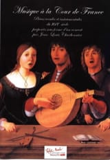 Musique à la cour de France Jean-Louis Charbonnier laflutedepan.com