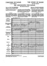 L'Histoire de Babar Francis Poulenc Partition laflutedepan.com