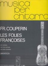 François Couperin - Les Folies françoises –2 guitares - Partition - di-arezzo.fr