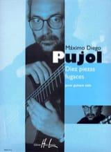 Maximo Diego Pujol - Diez Piezas Fugaces - Partition - di-arezzo.fr