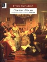 Franz Schubert - Clarinet Album - Partition - di-arezzo.fr