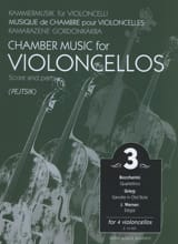 Arpad Pejtsik - Chamber music for violoncellos - Volume 3 - Score Parts - Sheet Music - di-arezzo.co.uk
