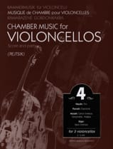 Arpad Pejtsik - Chamber music for violoncellos – Volume 4 - Score + Parts - Partition - di-arezzo.fr
