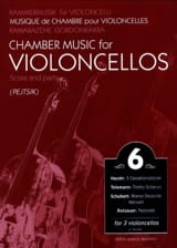 Arpad Pejtsik - Chamber music for violoncellos – Volume 6 - Score + Parts - Partition - di-arezzo.fr
