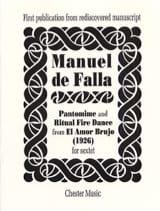 Manuel de Falla - Pantomime and Ritual Fire Dance - Score - Partition - di-arezzo.fr