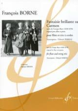 Fantaisie Brillante sur Carmen François Borne laflutedepan.com