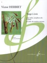 Tango a trois - Victor Herbiet - Partition - Trios - laflutedepan.com