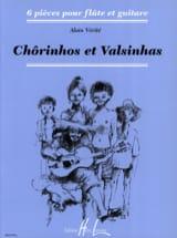 Chorinhos et Valsinhas Alain Vérité Partition Duos - laflutedepan.com