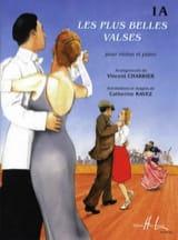 Vincent Charrier - Les plus belles valses - 1A –Violon - Partition - di-arezzo.fr