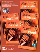 DE HASKE - I play violin Vol. 2 - Piano Accompaniment - Sheet Music - di-arezzo.co.uk