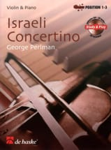 Israeli Concertino George Perlman Partition Violon - laflutedepan