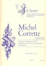 Michel Corrette - Sonate en ré mineur op.13 –Flûte clavecin - Partition - di-arezzo.fr