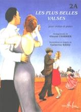 Vincent Charrier - Les plus belles valses - 2A –Violon - Partition - di-arezzo.fr