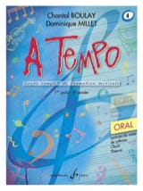 BOULAY - MILLET - A Tempo Volume 4 - Oral - Partition - di-arezzo.fr