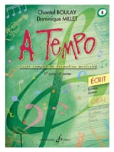 Chantal BOULAY et Dominique MILLET - A Tempo Volume 4 - Ecrit - Sheet Music - di-arezzo.co.uk