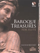 Baroque Treasures For Flute Beate Ehret Partition laflutedepan.com